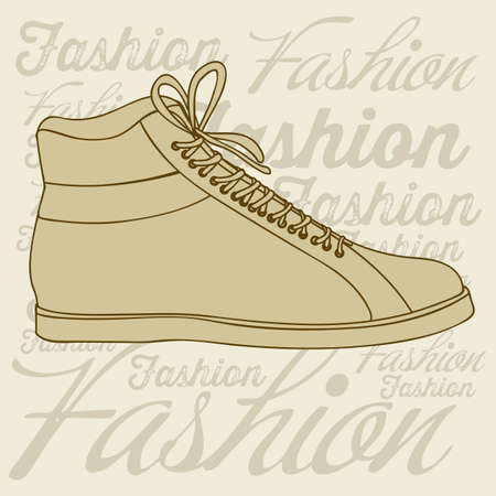 Illustration of fashion icons, fashion shoes, vector illustration Stock Vector - 18334810