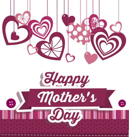 mothers day: Illustration of the celebration of Mothers Day, vector illustration