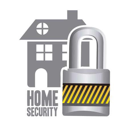 Illustratie van vastgoed pictogram, conceptueel pictogram met huis, vector illustratie
