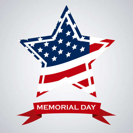 armed forces: Illustration Patriotic United States of America, USA, vector illustration