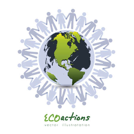 Illustration of planet earth, earth day, vector illustration Stock Vector - 19218475