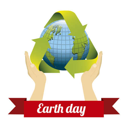 Illustration of planet earth, earth day, vector illustration Stock Vector - 19218505