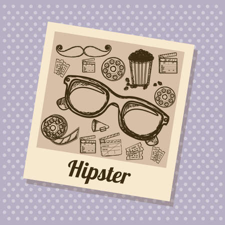 Illustration of style hipster, hipster culture and community, vector illustration Stock Vector - 19461998
