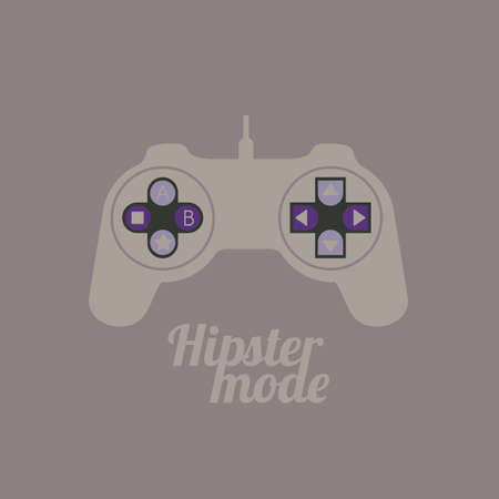 Illustration of style hipster, hipster culture and community, vector illustration Vector