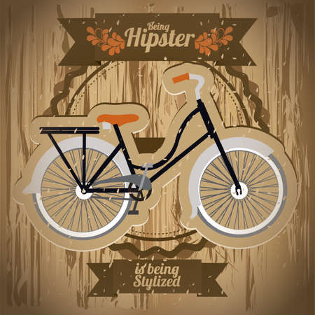 Illustration of style hipster, hipster culture and community, vector illustration Stock Vector - 19462147