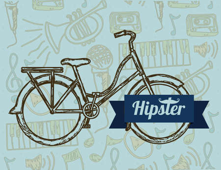 Illustration of style hipster, hipster culture and community, vector illustration Stock Vector - 19461945