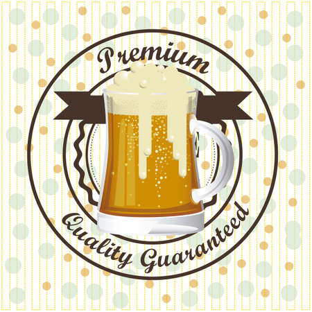 Illustration of beer free label, beer poster, vector illustration Stock Vector - 19461914