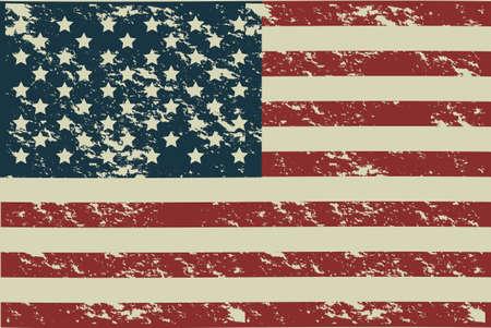 Illustration patriote Etats-Unis d'amérique, affiche, illustration vectorielle