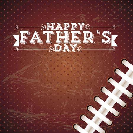 cartoon dad: Illustration for dad, happy fathers day, vector illustration Illustration