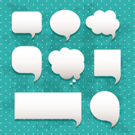 thought balloon: comic icons over dotted background vector illustration
