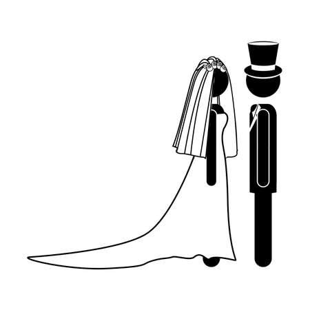 wedding design over white background vector illustration  Stock Vector - 21517955