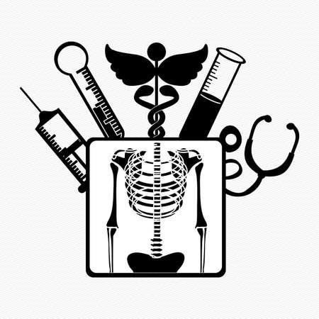 medical design over white background vector illustration Illustration