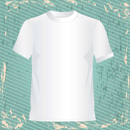 raglan: t-shirt design over lineal background vector illustration