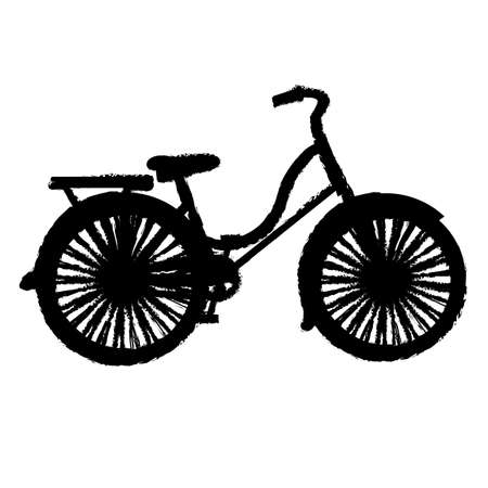 bicycling: bicycle design over white background vector illustration