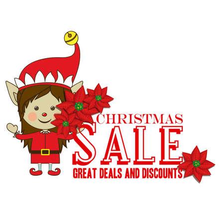 christmas design over white background vector illustration Stock Vector - 22197410