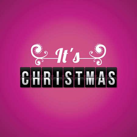 christmas design over purple background vector illustration  Vector