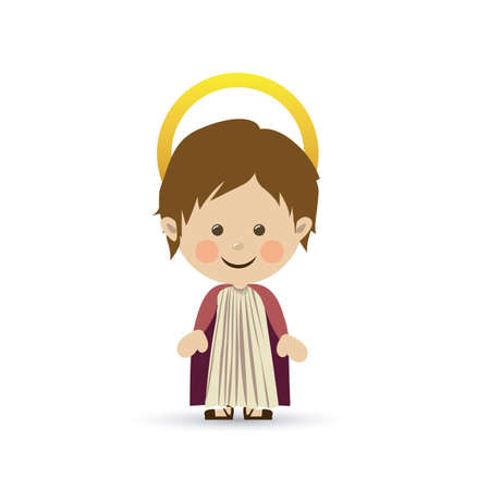 jesuschrist design over white background vector illustration Stock Vector - 22592819