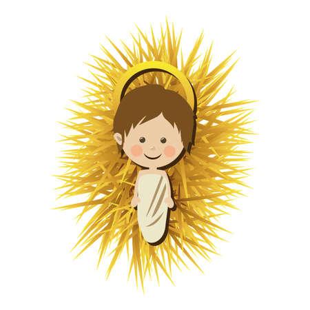 jesuschrist diseño sobre fondo blanco ilustración vectorial