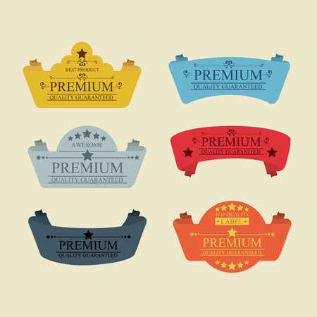 premium design over pink background vector illustration  Vector