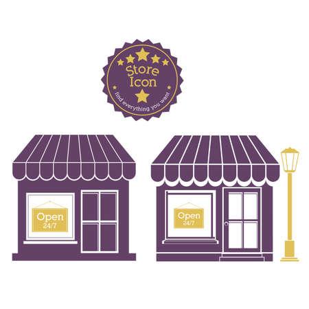 shopping design over beige background vector illustration