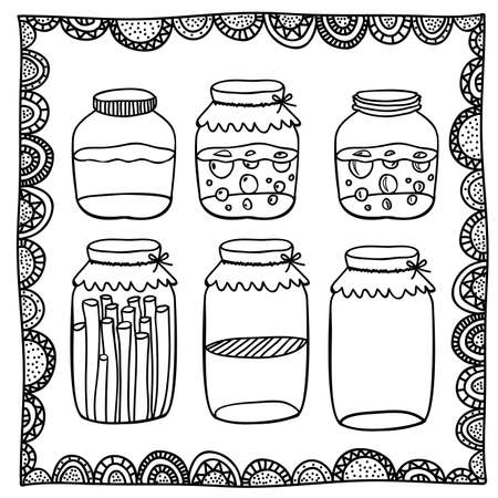 palitra: preserves drawing over white background vector illustration