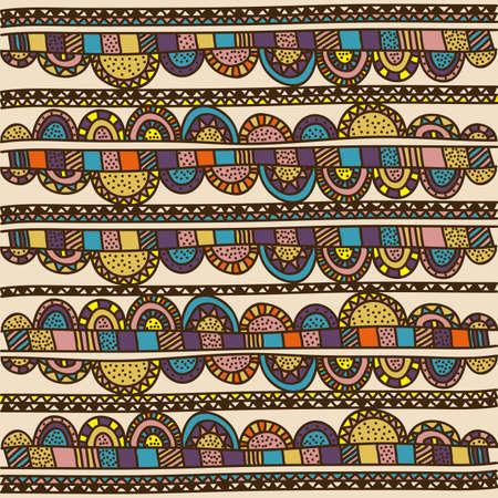 palitra: floral drawing over pattern background vector illustration Illustration