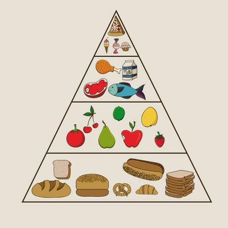 berryes: nutrition design over beige  background vector illustration  Illustration