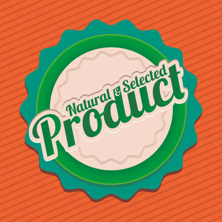 product design over lineal background vector illustration  Vector