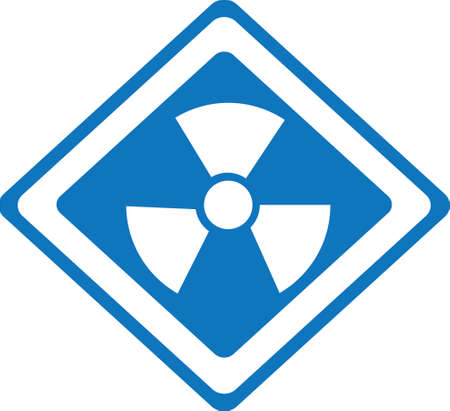 signaling: atomic signs over white background vector illustration