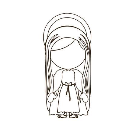 virgin design over white background vector illustration Stock Vector - 22894801