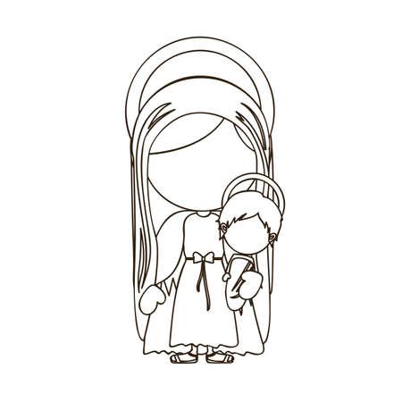 virgin design over white background vector illustration Stock Vector - 22894806
