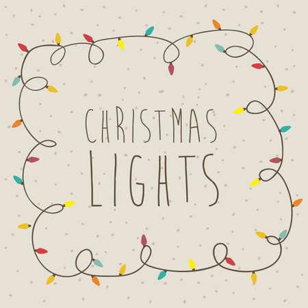 christmas design over beige background vector illustration
