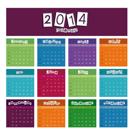 calendar design over white background vector illustration