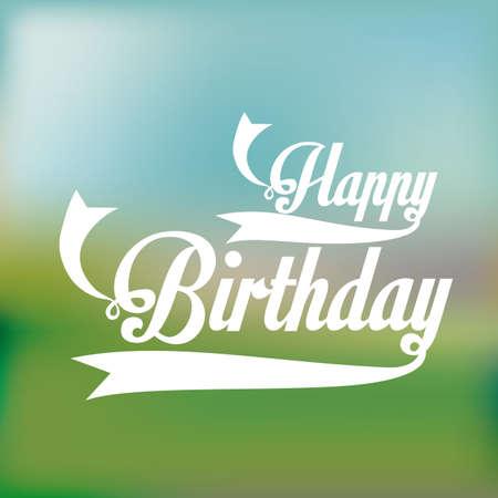 backgrund: birthday  design over pattern backgrund vector illustration  Illustration