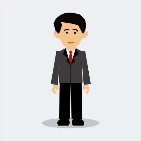 man design over gray background vector illustration