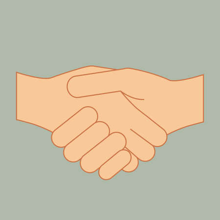 nonverbal: hands gesture over gray background vector illustration