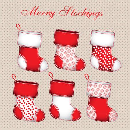 christmas design over dotted background vector illustration