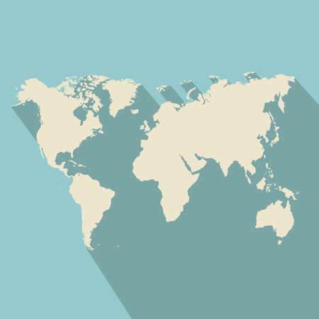 zeměpisný: geografický design na modrém pozadí vektorové ilustrace