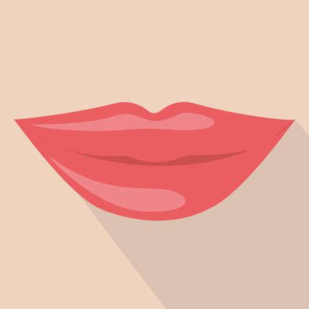 mouth design over pink background vector illustration Vector