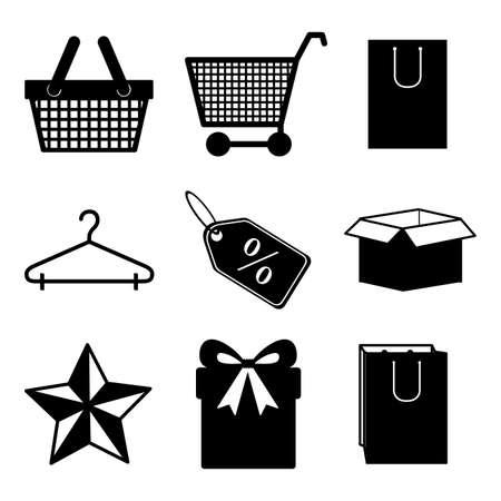 shopping design over white  background vector illustration Vector