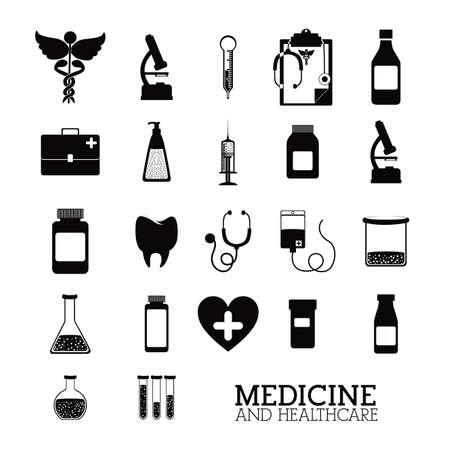 bootle: medical design over white background vector illustration