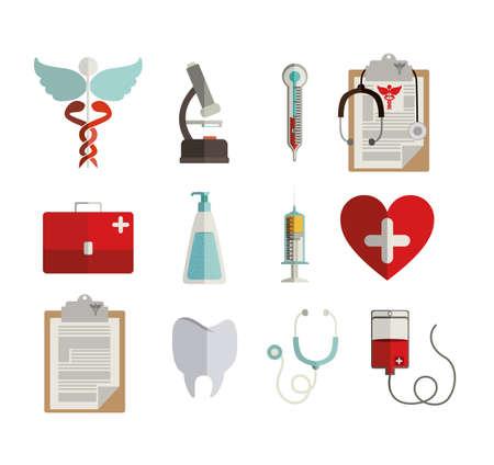 blood tests: medical design over white background vector illustration