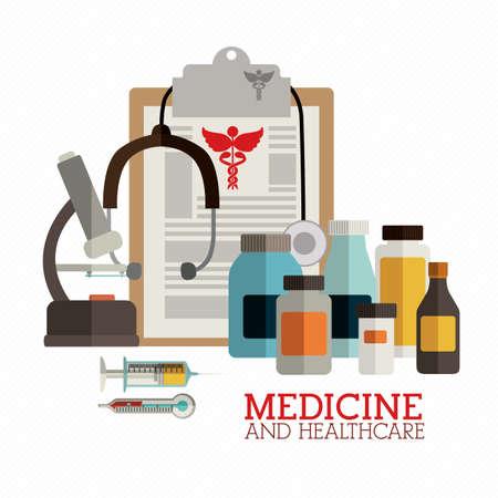 community service: medical design over white background vector illustration