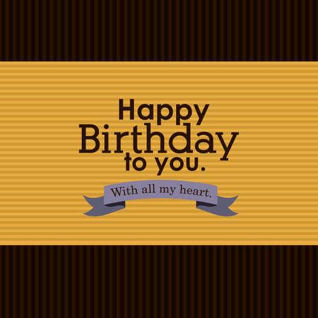 happy birthday  design  Stock Vector - 27181410