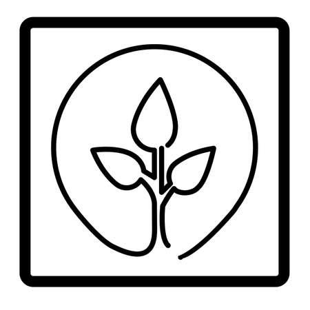 enviromental: eco design over white  background vector illustration  Illustration