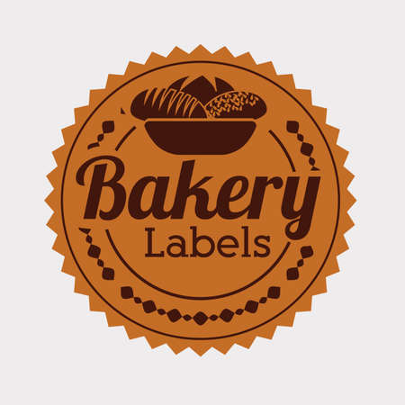 bakery design over white    background vector illustration   Vector