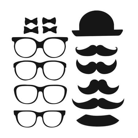Hipster design over white background, vector illustration Vector
