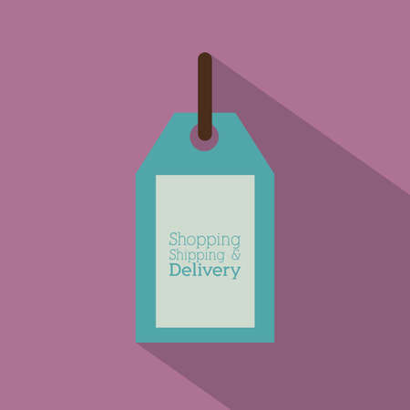 Delivery design over purple background,vector illustration Stock Vector - 28487641