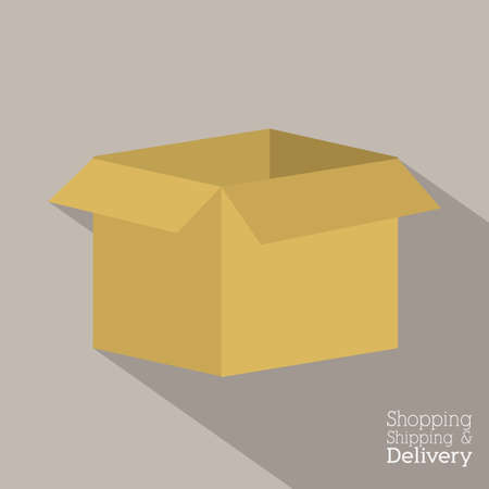 Delivery design over gray background,vector illustration Stock Vector - 28487642