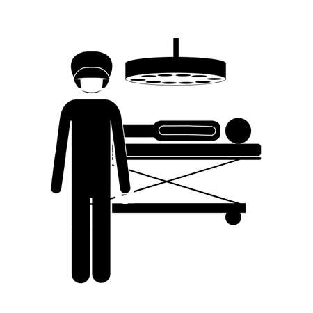 Occupations design over white background, vector illustration Vector